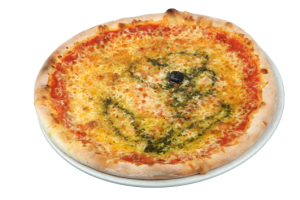 pizza rouge fromage